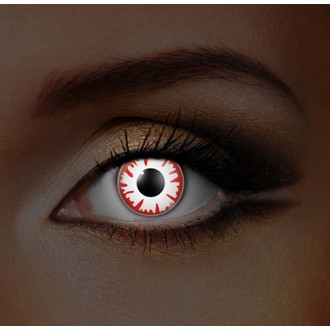 kontaktné šošovka I-GLOW - WHITE DEMON UV - EDIT