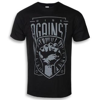 tričko pánske Rise Against - Fist - Black - KINGS ROAD