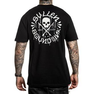 tričko pánske SULLEN - BOUND BY INK - BLACK