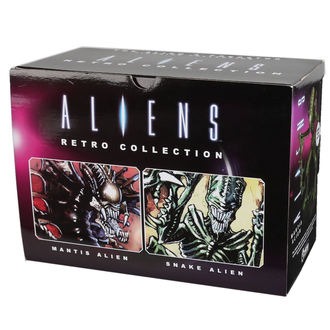 figúrka (set 2 kusov) Alien - Vetřelec - Retro - Mantis Alien & Snake Alien