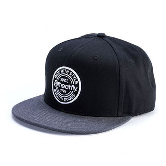 šiltovka MEATFLY - COMP SNAPBACK C - BLACK / DARK HEATHER, MEATFLY