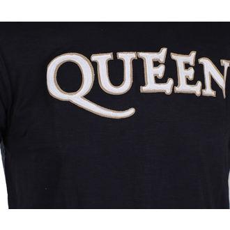 tričko pánske Queen - Logo & Crest - ROCK OFF, ROCK OFF, Queen