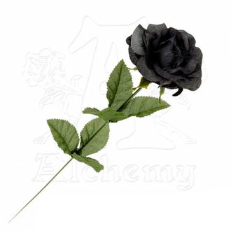 čierna ruža Black Imitation rose, ALCHEMY GOTHIC