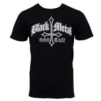 tričko pánske Black Metal 666 Cult