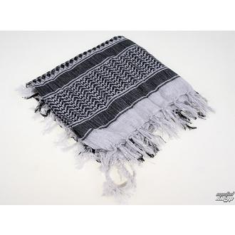 šatka ARAFAT - palestina - SILVER - bílá