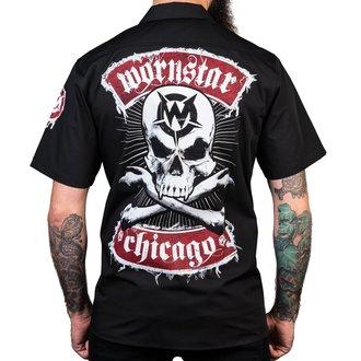 košele pánska WORNSTAR - Chicago Skull - Black, WORNSTAR