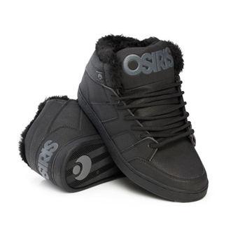 topánky zimný OSIRIS - Convoy Mid Shr - Black / Black, OSIRIS