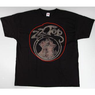 tričko pánske ZZ Top - Outlaw - Vintage Blk - BRAVADO EU - POŠKODENÉ, BRAVADO EU, ZZ-Top