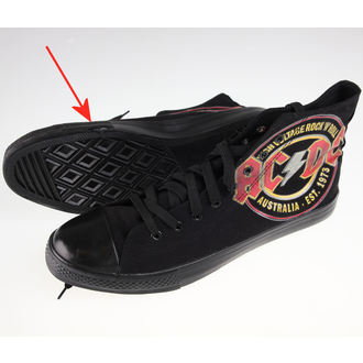 topánky AC/DC - Sneakers - F.B.I.. - POŠKODENÉ, F.B.I., AC-DC