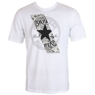 tričko pánske CONVERSE - Chuckptch Contrast Slash, CONVERSE