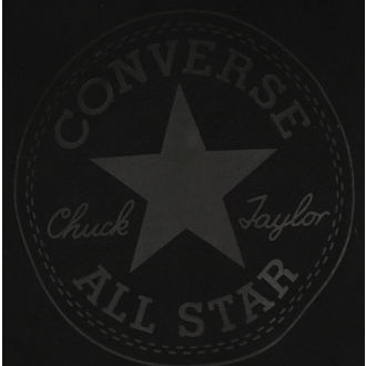 mikina pánska CONVERSE - Core Graphic - Black, CONVERSE