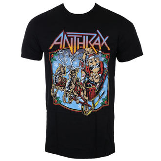 tričko pánske Anthrax - Christmas Is Coming - ROCK OFF, ROCK OFF, Anthrax