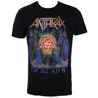 tričko pánske Anthrax - For All Kings Cover - ROCK OFF, ROCK OFF, Anthrax