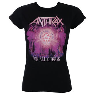tričko dámske Anthrax - For All Queens - ROCK OFF, ROCK OFF, Anthrax