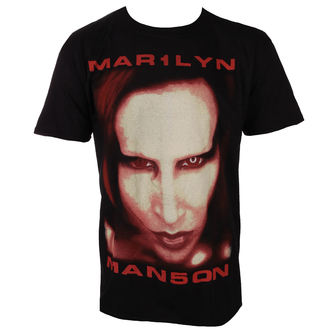 tričko pánske Marilyn Manson - Bigger Than Satan - ROCK OFF, ROCK OFF, Marilyn Manson
