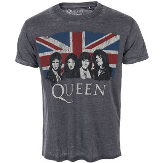 tričko pánske Queen - Vintage Union Jack - ROCK OFF, ROCK OFF, Queen