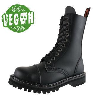 topánky KMM 10dírkové - Vegan - Black, KMM