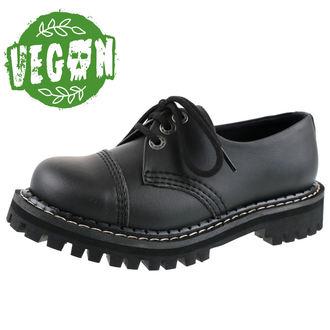 topánky KMM 3dírkové - Vegan - Black, KMM