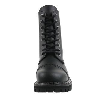 topánky KMM 8dírkové - Vegan - Black, KMM
