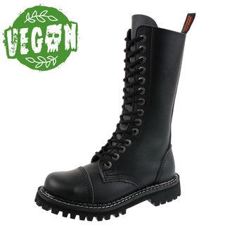topánky KMM 14dírkové - Vegan - Black, KMM