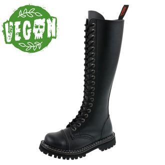 topánky KMM 20dírkové - Vegan - Black, KMM