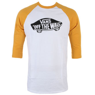 tričko pánske s 3/4 rukávom VANS - OTW RAGLAN - WHITE / MINERA, VANS