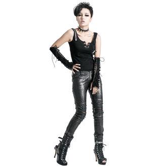 nohavice dámske PUNK RAVE - Therion - black/silver - K-145-black-w
