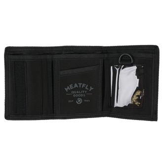 peňaženka MEATFLY - Vega - Black, MEATFLY