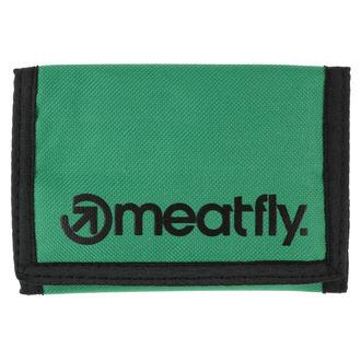 peňaženka MEATFLY - Vega - Green, Black, MEATFLY