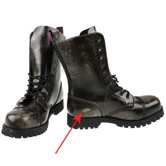 topánky NEVERMIND - 10 dierkové - Grey Spider - POŠKODENÉ, NEVERMIND