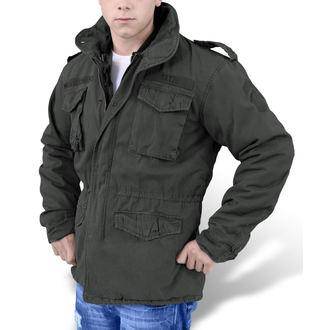 bunda pánska zimný SURPLUS - REGIMENT M 65 - Black - 20-2501-93 ... 7d14ba4aac5