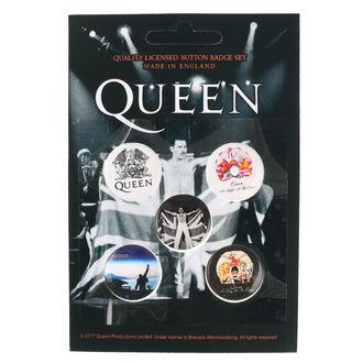 odznaky Queen - RAZAMATAZ, RAZAMATAZ, Queen