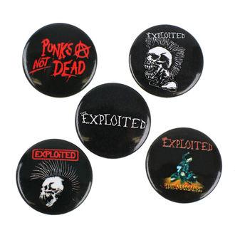 odznaky Exploited - RAZAMATAZ, RAZAMATAZ, Exploited
