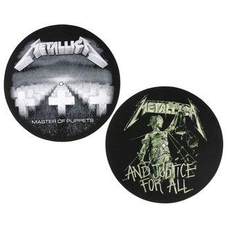 podložka na gramofón (set 2ks) Metallica - RAZAMATAZ, RAZAMATAZ, Metallica