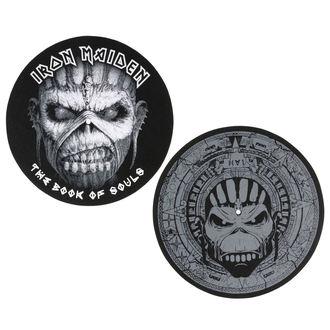 podložka na gramofón (set 2ks) Iron Maiden - RAZAMATAZ, RAZAMATAZ, Iron Maiden
