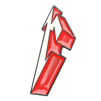 pripináčik Metallica - 3D M, Metallica