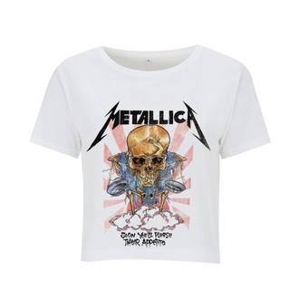 tričko dámske (top) Metallica - Scales - White, NNM, Metallica