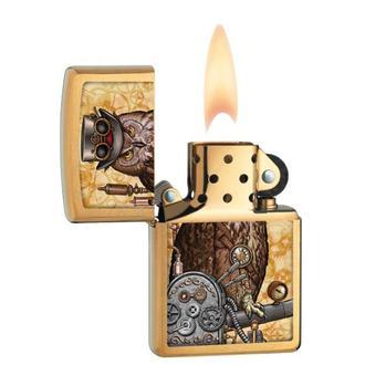 zapaľovač ZIPPO - STEAMPUNK OWL, ZIPPO