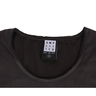 tričko dámske MISFITS - SKULL - Charcoal - AMPLIFIED, AMPLIFIED, Misfits