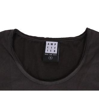 tričko dámske NIRVANA - COLOURS - Charcoal - AMPLIFIED, AMPLIFIED, Nirvana