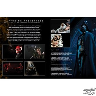kniha Twenty Years of Sideshow Collectibles Art - SS500228 - POŠKODENÁ