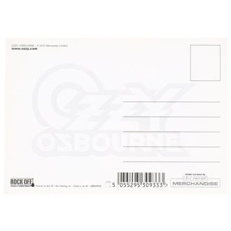 pohľadnice Ozzy Osbourne - ROCK OFF, ROCK OFF, Ozzy Osbourne
