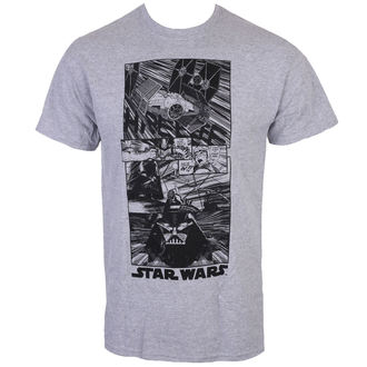 tričko pánske STAR WARS - CLASSIC NEW HOPE - Charcoal - LIVE NATION, LIVE NATION