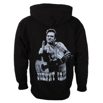 mikina pánska JOHNNY CASH - FLIPPIN - BLACK - LIVE NATION, LIVE NATION, Johnny Cash