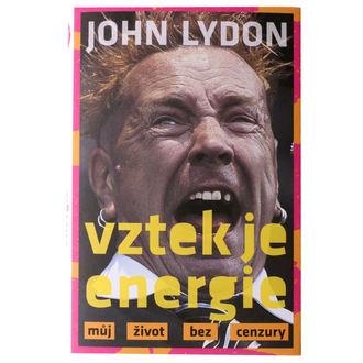 kniha zlosť je energia - John Lydon, NNM, Sex Pistols
