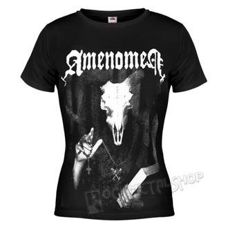 tričko dámske AMENOMEN - DEVIL'S BIBLE, AMENOMEN