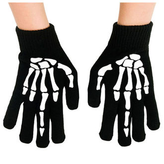 rukavice TOO FAST - UP YOURS SKELETON HAND MIDDLE, TOO FAST