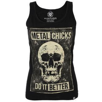 tielko dámske METAL CHICKS DO IT BETTER, METAL CHICKS DO IT BETTER