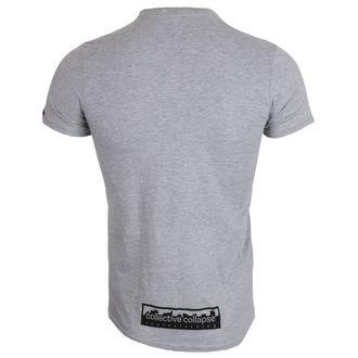 tričko pánske COLLECTIVE COLLAPSE - Seitanist - black výšivka, COLLECTIVE COLLAPSE