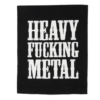 nášivka veľká Heavy fucking metal